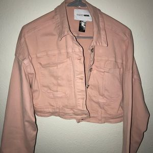 Blush fashion nova jacket
